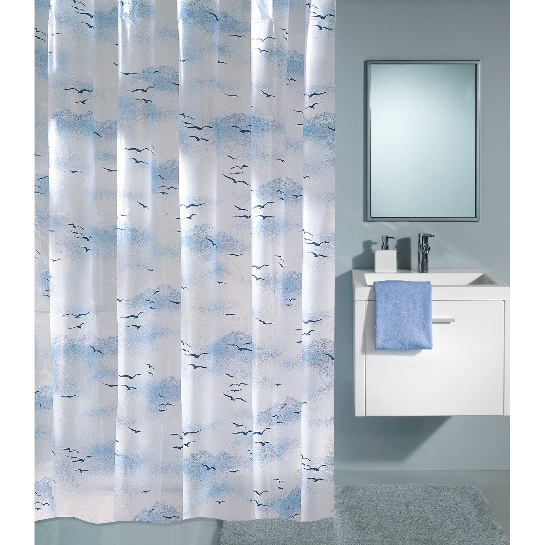obi duschvorhang viola 120 cm x 200 cm polarblau kaufen. Black Bedroom Furniture Sets. Home Design Ideas