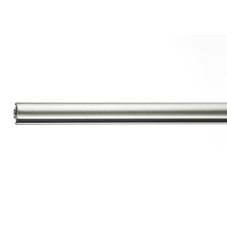 Mydeco Gardinenstange Fur Gleiter Edelstahl Optik O 2 5 Cm X 160 Cm Kaufen Bei Obi