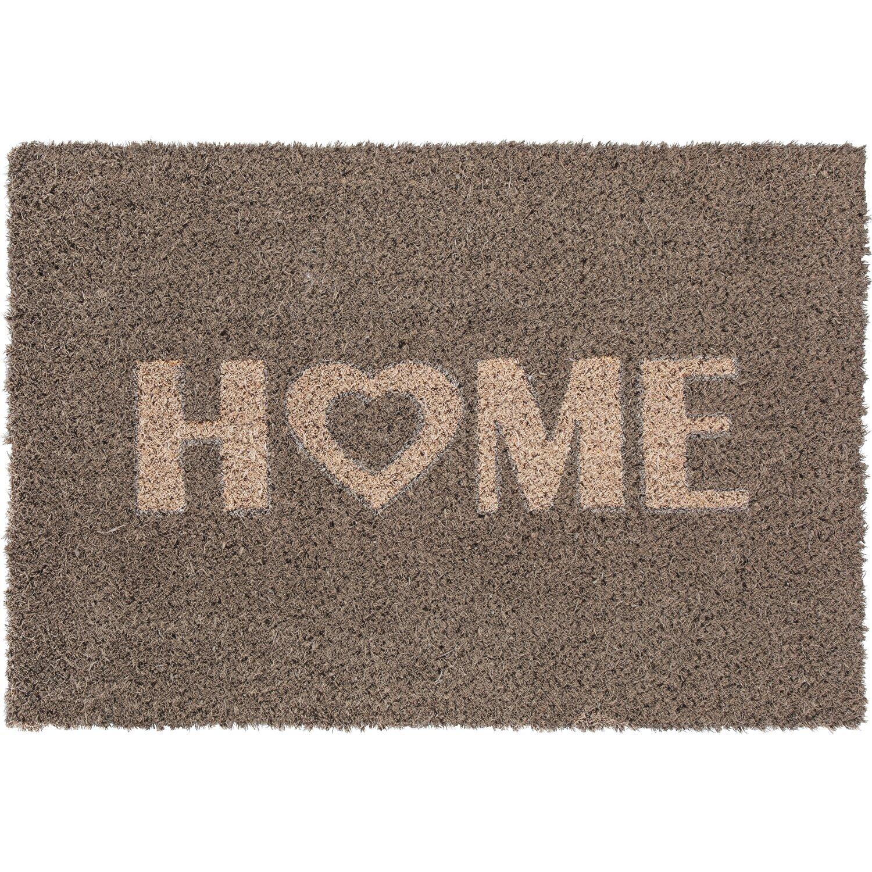 Andiamo Fussmatte Home Heart Grau 40 cm x 60 cm | Heimtextilien > Fussmatten | Andiamo
