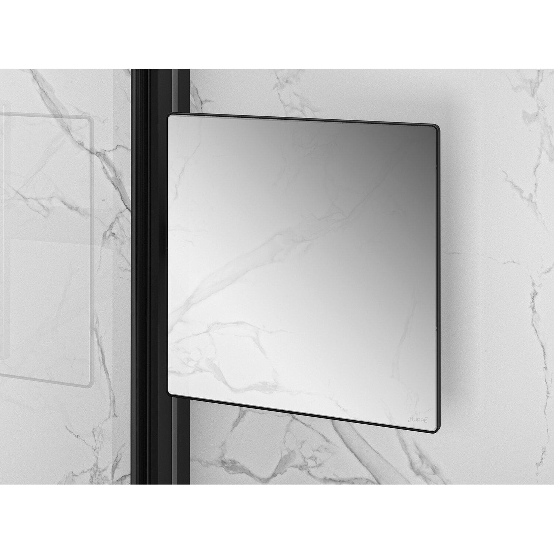 Hüppe Spiegel Select+ für die Dusche Schwarz