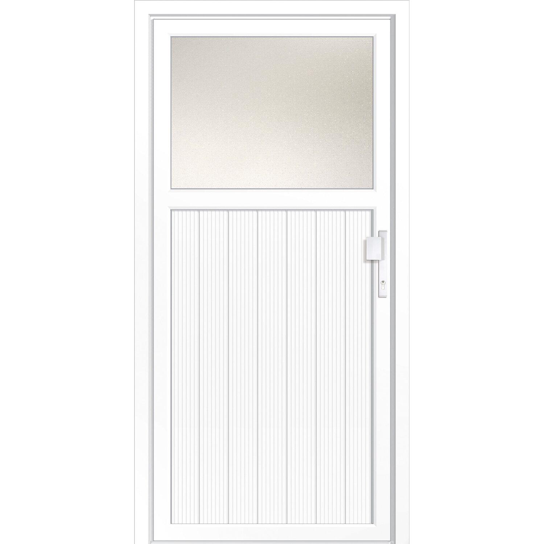 kunststoff nebeneingangst r dresden 98 cm x 198 cm din rechts kaufen bei obi. Black Bedroom Furniture Sets. Home Design Ideas