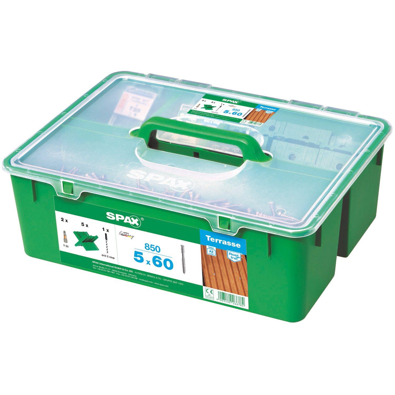Spax Green Box Terrassen Profiset 20 mm x 20 mm kaufen bei OBI