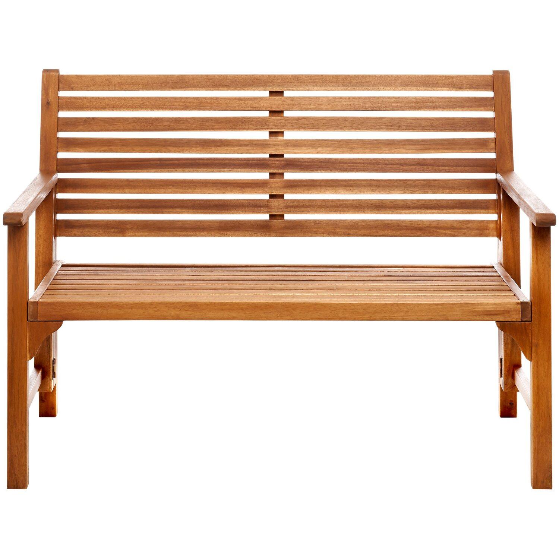 Somerset Gartenbank 2 Sitzer Klappbar 111 X 59 X 90 Cm Holz Kaufen