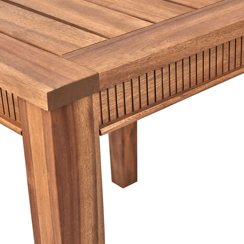 Acacia Springs Gartentisch 80 X 80 Cm Holz