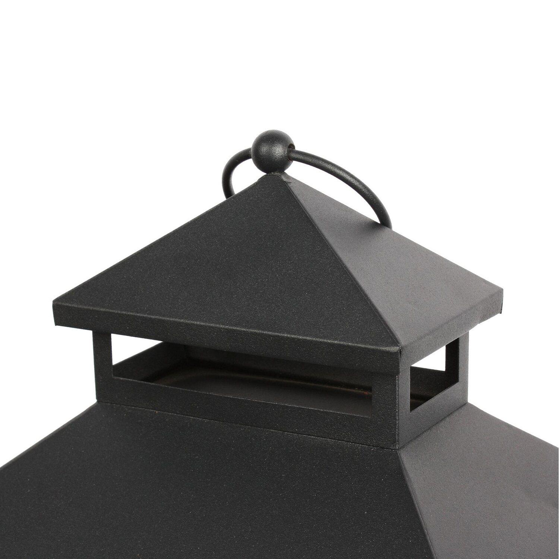 El Fuego Laterne mit Flammeneffekt AY0550 günstig online kaufen