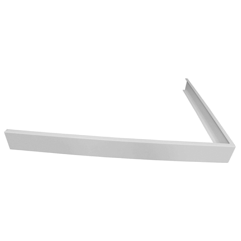Breuer Aluminiumschürze für Rechteck-Duschwannen 90 cm x 120 cm Weiß | Bad > Duschen > Duschwannen | Breuer