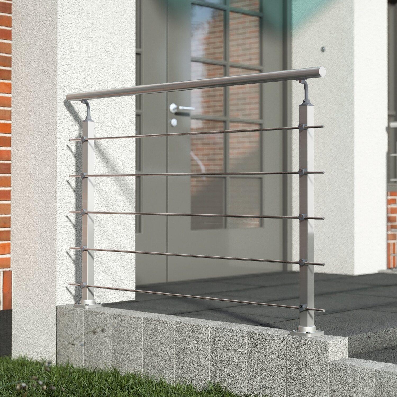 IP Aluminium Dachtr/äger f/ür traditionelle Dachrelinge spezielle klappbare Endkappen von den Tragrohren Modernes Design