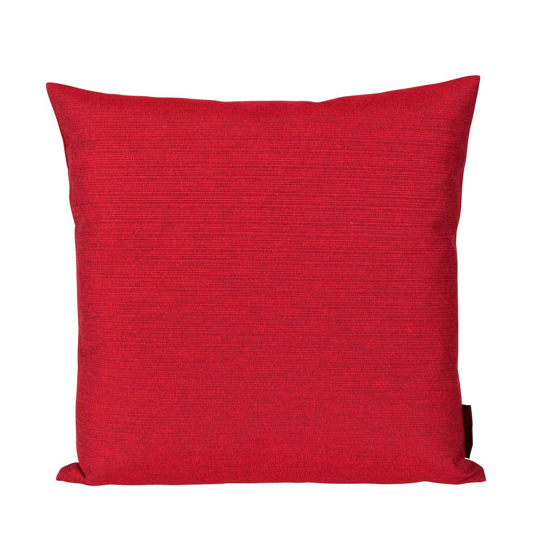 gef lltes kissen fino rot 50 cm x 50 cm kaufen bei obi. Black Bedroom Furniture Sets. Home Design Ideas