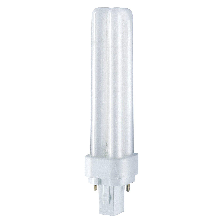 Osram Energiesparlampe Stabform flach G24d-1 / ...