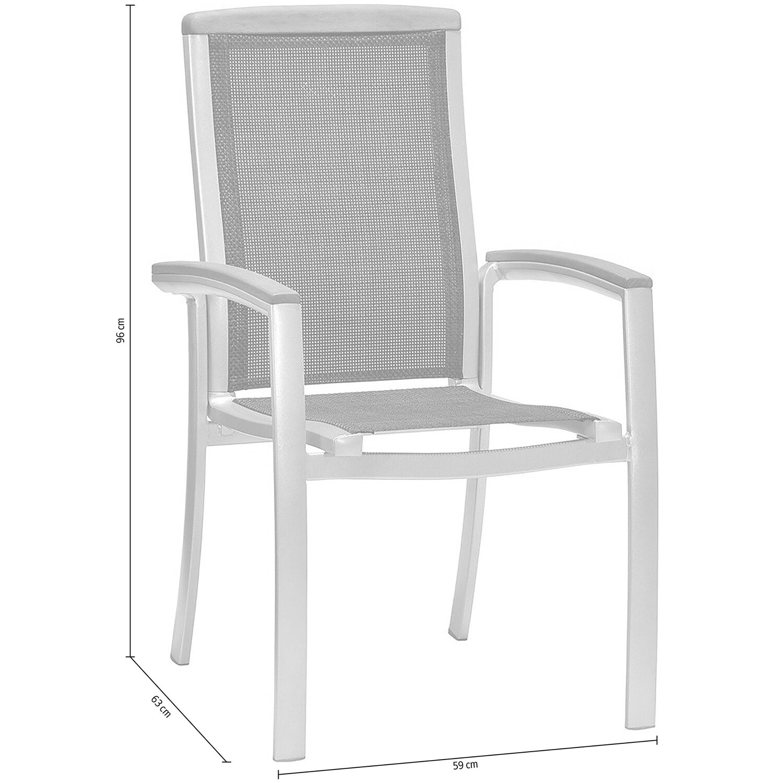 obi stapelstuhl barrie mit textilen bespannung kaufen bei obi. Black Bedroom Furniture Sets. Home Design Ideas