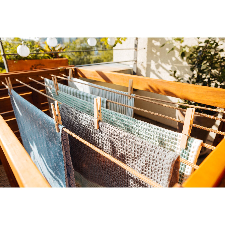 Balkonmöbel Holz Set 2021