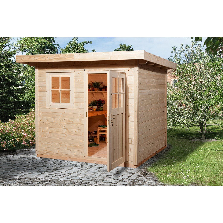 Weka Holz Gartenhaus 170 Gr 1 Natur Bxt 235 Cm X 211 Cm Kaufen Bei Obi