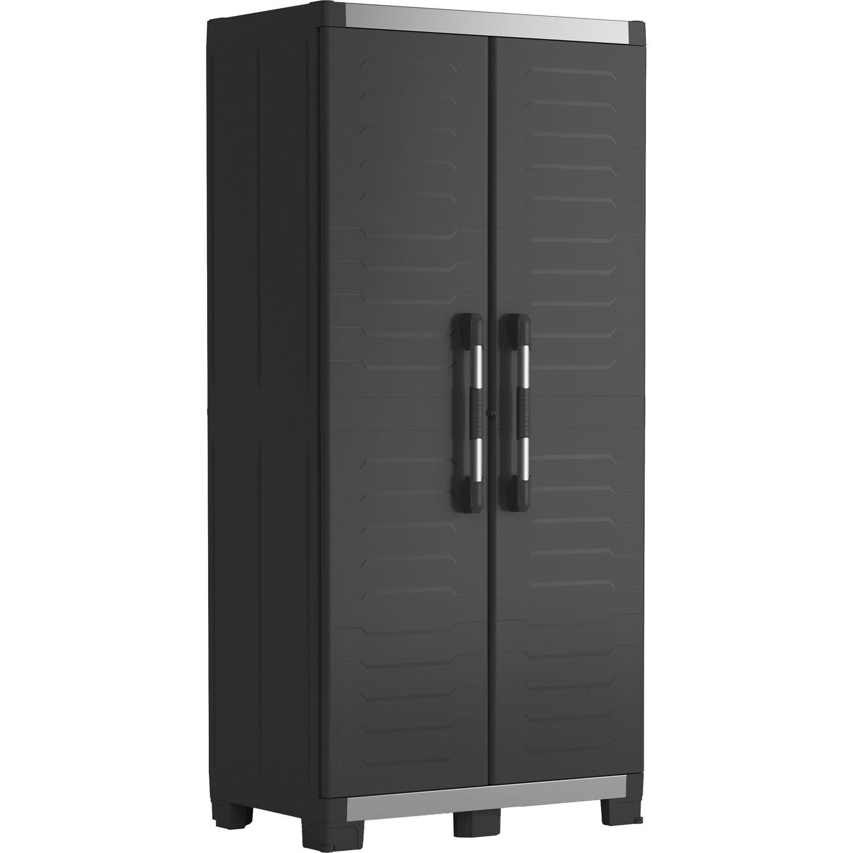 Keter Xl Garage Kunststoffschrank hoch | Schlafzimmer > Kleiderschränke > Ordnungssysteme | Keter