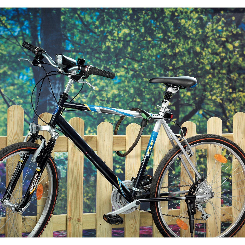 lux fahrrad panzerkabel schloss 85 cm kaufen bei obi. Black Bedroom Furniture Sets. Home Design Ideas