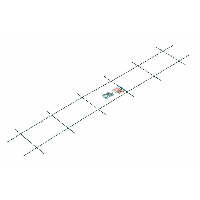 OBI Metallspalier 150 cm x 30 cm Grün