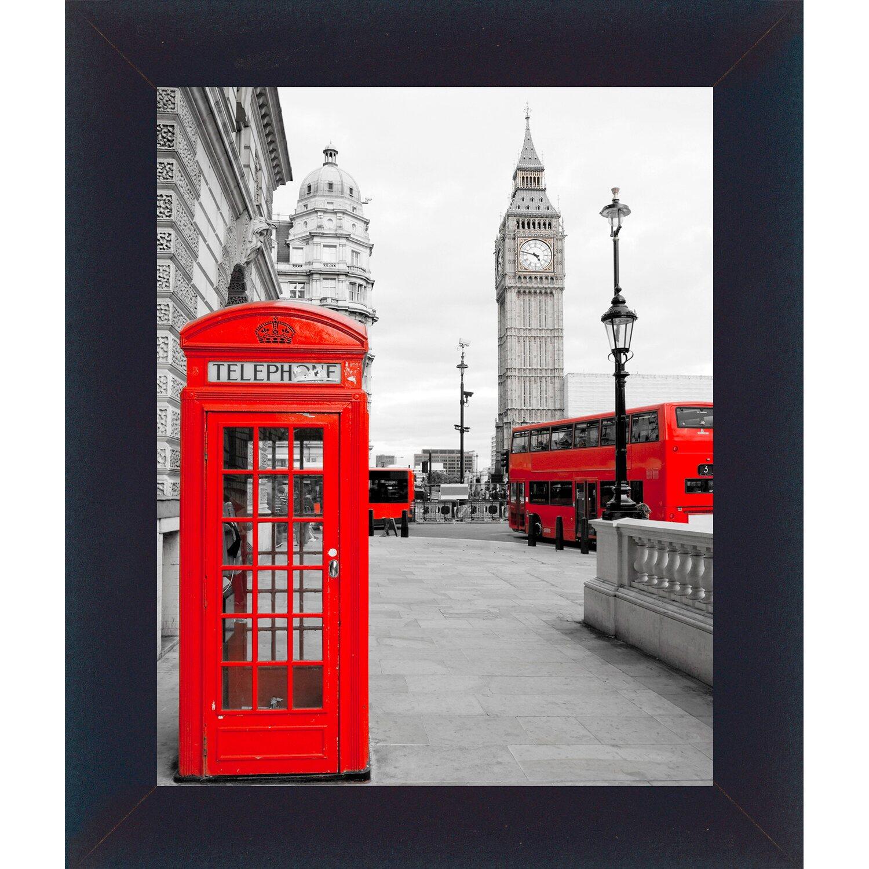 Bild mit Rahmen London 32 cm x 38 cm kaufen bei OBI