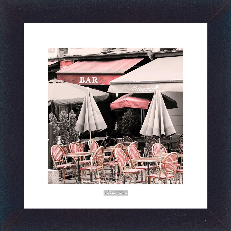 Sonstige Bild mit Rahmen French Boulevard III 38 cm x 38 cm