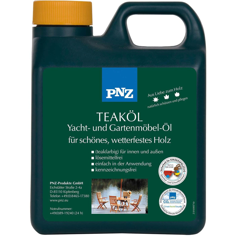 PNZ Yacht- und Gartenmöbel-Öl Teak 2,5 l