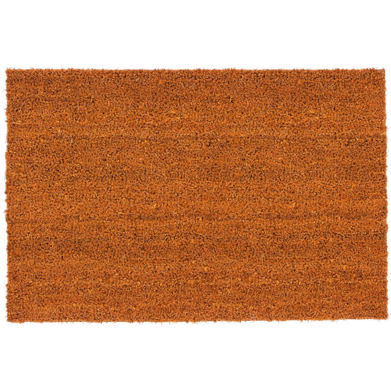Astra Fußmatte Kokosvelours Color 40 cm x 60 cm Curry | Heimtextilien > Fussmatten | ASTRA