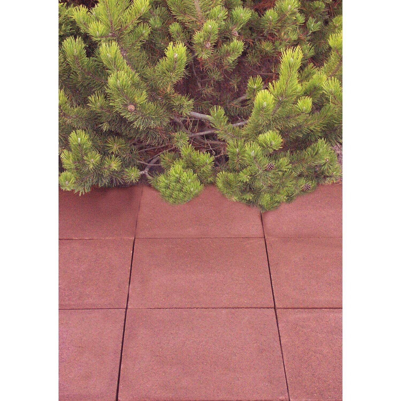 EHL Gehwegplatte Beton Rot 20 cm x 20 cm x 20 cm kaufen bei OBI