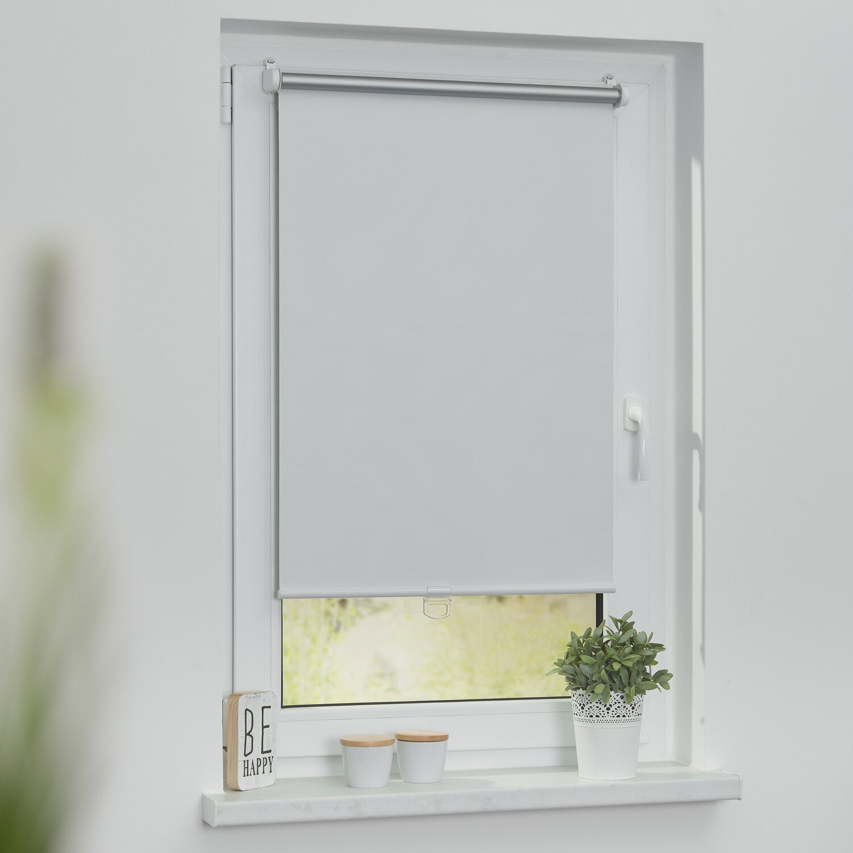 Thermo Klemmfix Verdunklungsrollo Rollo für Fenster ohne Bohren Verdunkelung