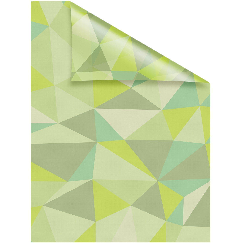 Lichtblick Fensterfolie Selbstklebend Mit Sichtschutz Pattern Dreiecke Grun Kaufen Bei Obi
