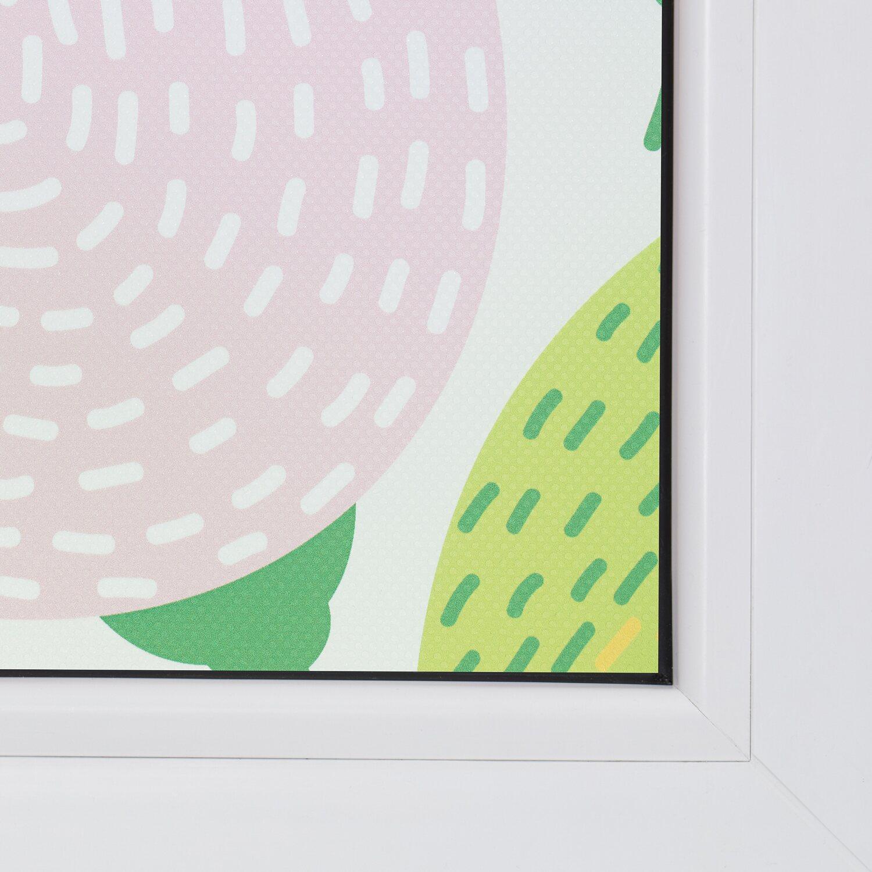 Lichtblick Fensterfolie Selbstklebend Mit Sichtschutz Blumen Bunt Kaufen Bei Obi
