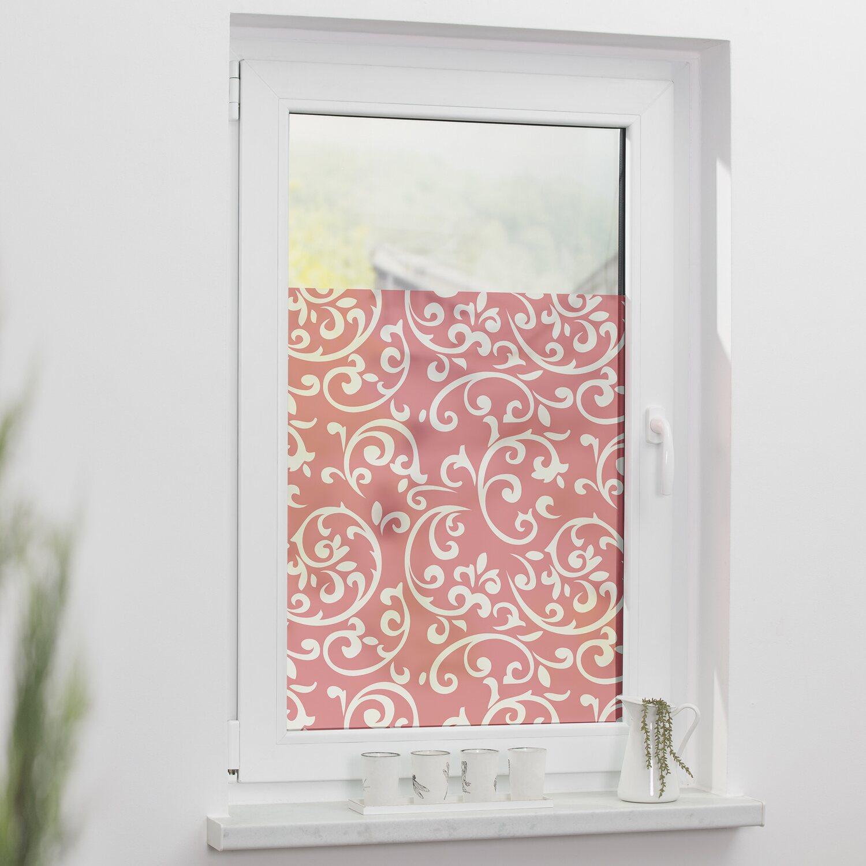 Lichtblick Fensterfolie Selbstklebend Mit Sichtschutz Ornamente