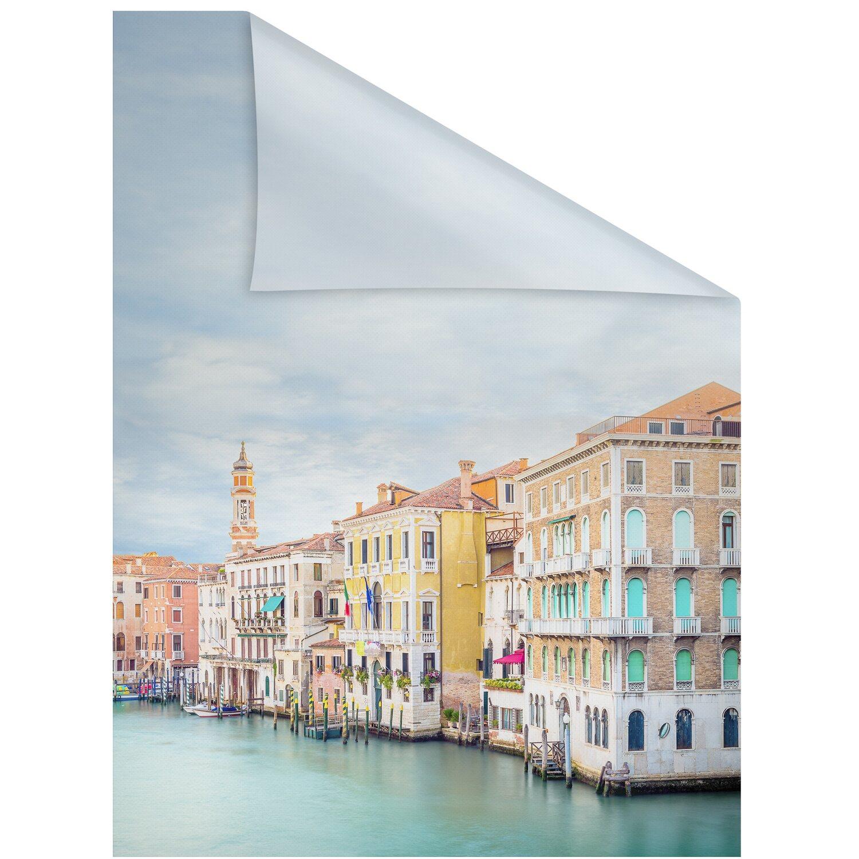 Lichtblick Fensterfolie Selbstklebend Mit Sichtschutzvendig Bunt