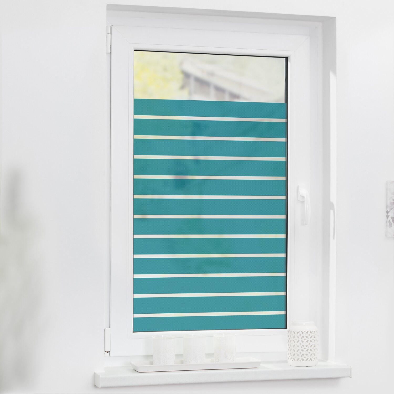 Lichtblick Fensterfolie Selbstklebend Mit Sichtschutz Streifen
