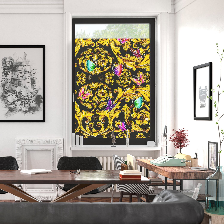Pompoos By Lichtblick Fensterfolie Selbstklebend Sichtschutz Rot