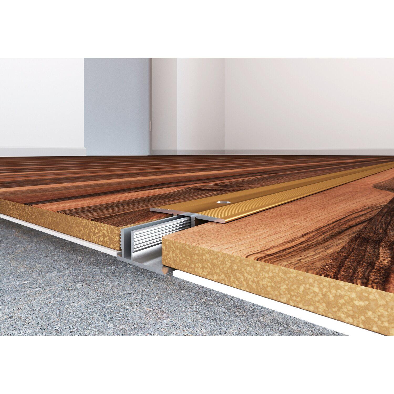 bergangsprofil inkl schrauben und d bel 34 mm 7 15 mm silber 900 mm kaufen bei obi. Black Bedroom Furniture Sets. Home Design Ideas