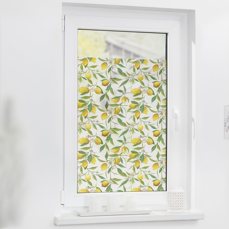 Lichtblick Fensterfolie Selbstklebend Mit Sichtschutz Limone Gelb Grun Kaufen Bei Obi