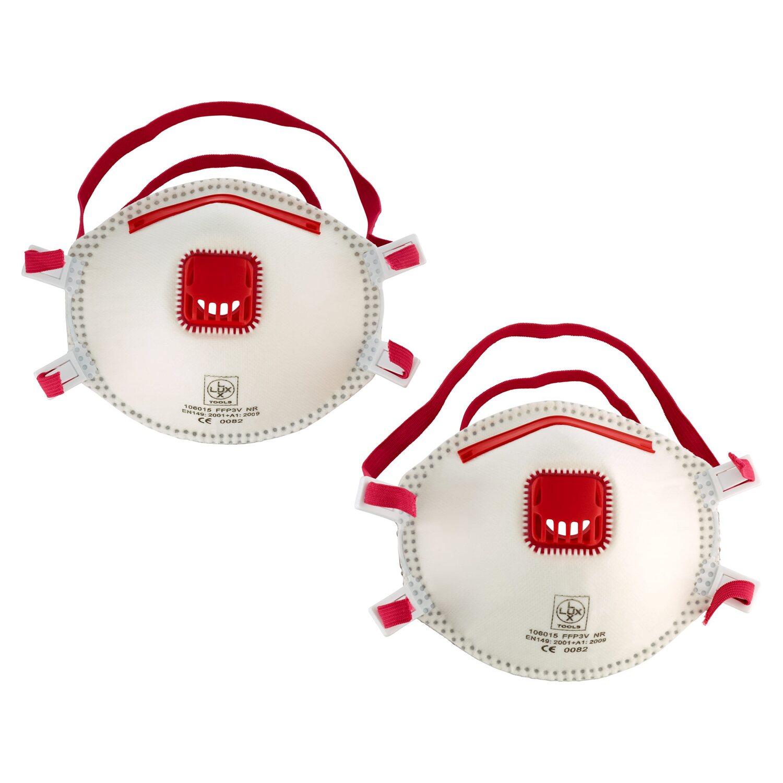 LUX Feinstaubmaske FFP3 2 Stück Preisvergleich