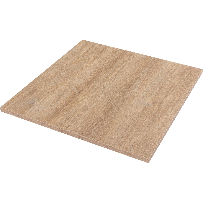 Tischplatte Robinson Eichenoptik 80 Cm X 80 Cm X 2 5 Cm Kaufen Bei Obi