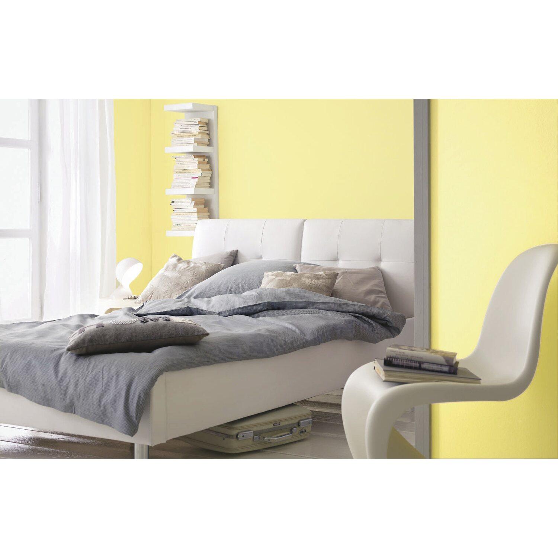 Wandfarbe Gelb: Alpina Farbrezepte Lichtes Gelb Matt 2,5 L Kaufen Bei OBI