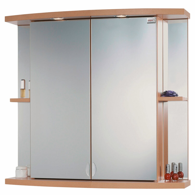 Sieper spiegelschrank boston 78 cm buche eek c kaufen for Spiegelschrank obi
