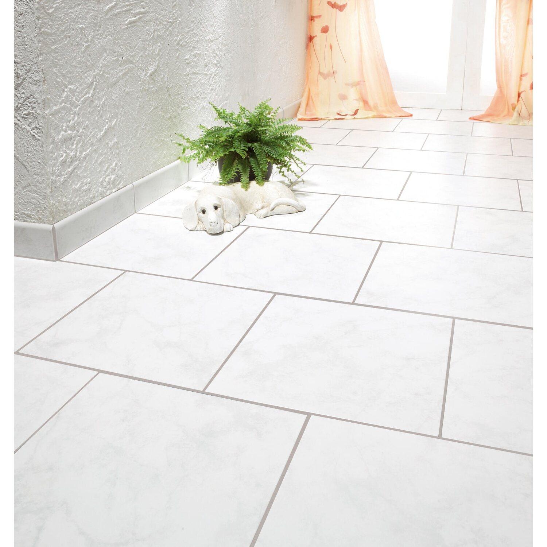 Feinsteinzeug Thassos Grau Cm X Cm Kaufen Bei OBI - Fliesen weiß grau marmoriert