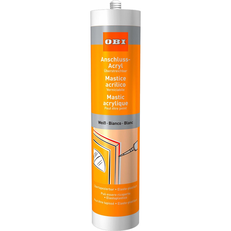 OBI  Anschluss-Acryl Weiß 310 ml