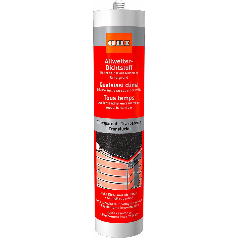 OBI Allwetter Dichtstoff Transparent 310 ml