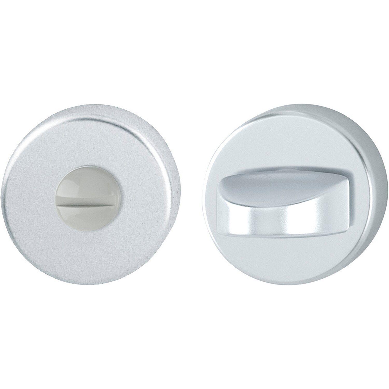 Hoppe  Bad- und WC-Schlüsselrosette 37 mm - 42 mm Alu Natur