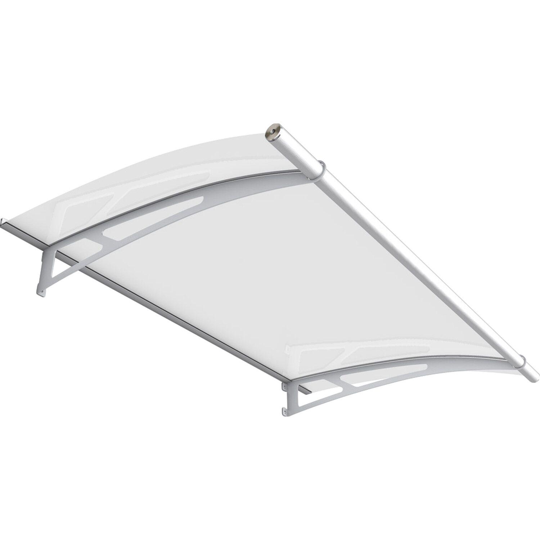 pultbogenvordach lt line edelstahl v2a klar 17 x 150 x 95 cm kaufen bei obi. Black Bedroom Furniture Sets. Home Design Ideas