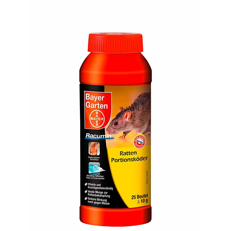 Bayer Garten Bayer Ratten Portionsköder Racumin 250 g