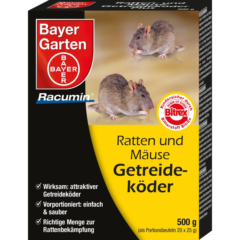 Bayer Garten Bayer Ratten & Mäuse Getreideköder - 500 g