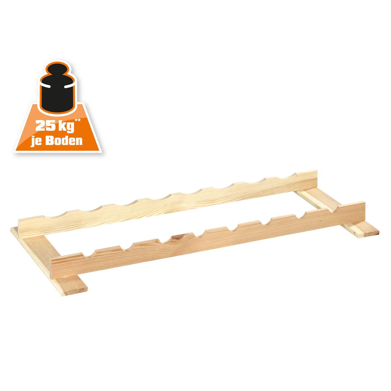 obi holz flaschenboard 2er set kaufen bei obi. Black Bedroom Furniture Sets. Home Design Ideas