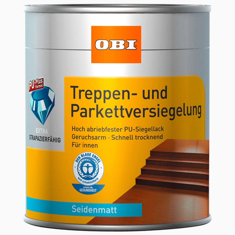 Sehr OBI Treppen- und Parkettversiegelung Transparent seidenmatt 375 ml PT74
