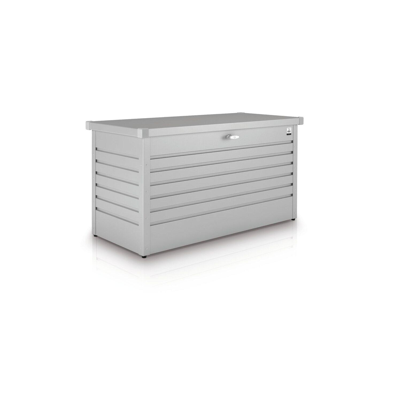 biohort freizeitbox 130 silber metallic kaufen bei obi. Black Bedroom Furniture Sets. Home Design Ideas