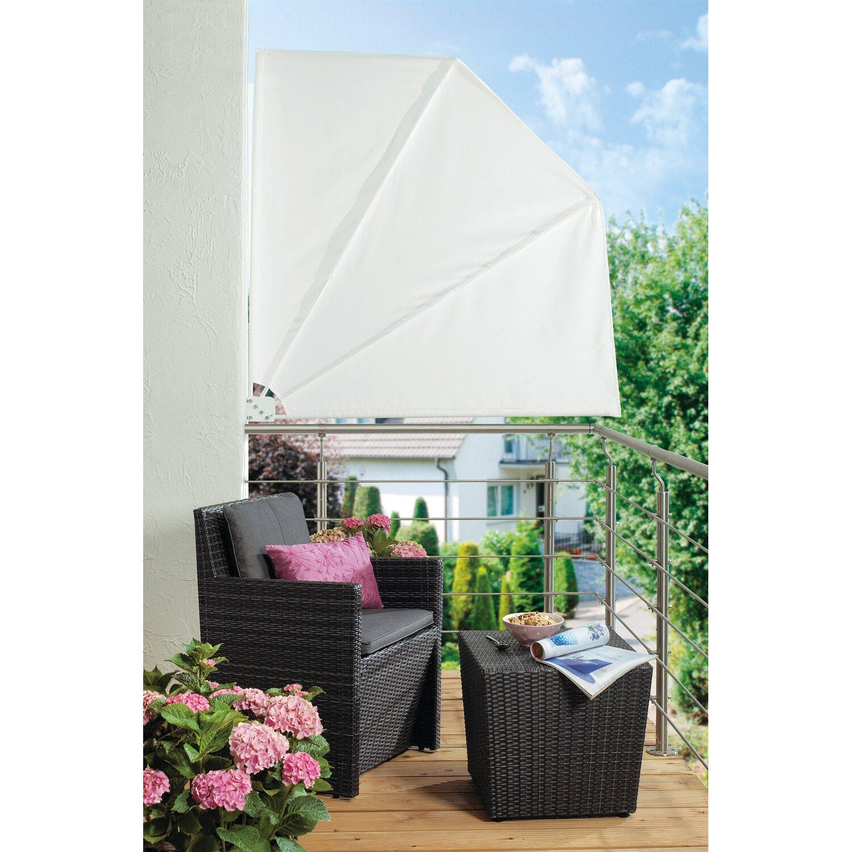 obi balkonf cher danville 140 cm x 140 cm wei kaufen bei obi. Black Bedroom Furniture Sets. Home Design Ideas