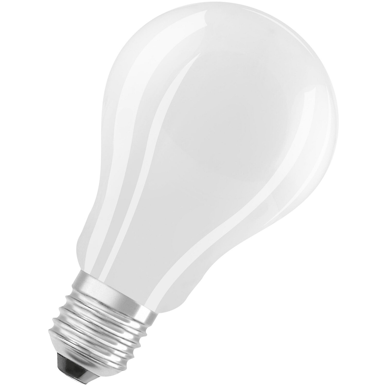 Osram LED Lampe Classic A Glühlampenform Matt E9, 9W 9 lm Warmweiß  EEK A++