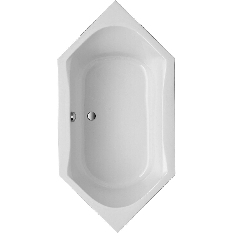 Sechseckwanne Corsica 200 cm x 100 cm Weiß
